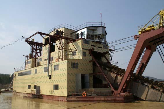 制造浮着的竹筒耙网钢包精炼的容量 80 至 350 升