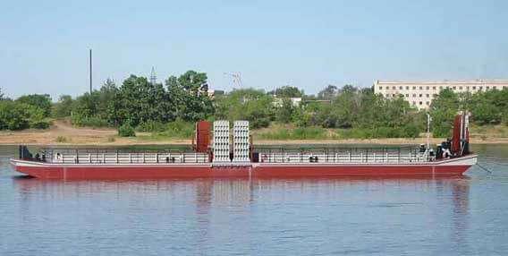 驳船平台项目 81210