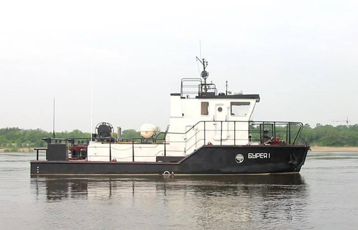 一艘拖曳项目 21700
