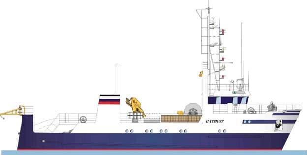 小型拖网渔船, morozilschik 捕鱼。 草案 22320
